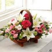 Buy Funeral Basket from flowers 4 funeral