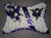 Buy Pillow Funeral Flower from flowers 4 funeral