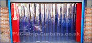 Use PVC strip curtains in you home and office to protect dust