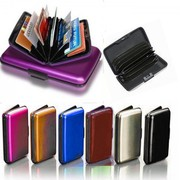 Shop Online Aluminium Credit Card Wallet and Holder
