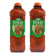 MP Naija Palm Oil - 1 Litre (Pack of 2)